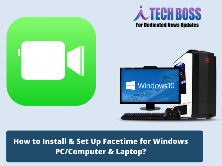 How to Set up Facetime on PC